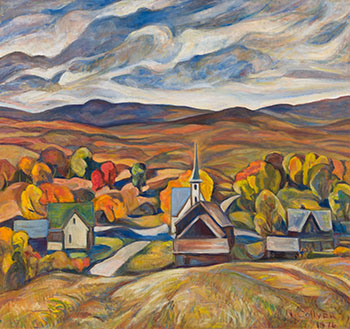 Austin, Eastern Townships, PQ by Nora Frances Elizabeth Collyer