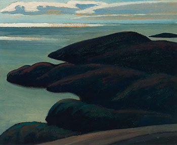 North of Lake Superior by Lawren Stewart Harris
