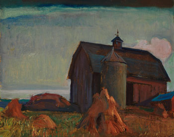 Barn - Bay of Quinte by Frederick Horsman Varley
