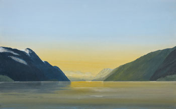 Inside Passage 16/88: Dawn in Fraser Reach by Takao Tanabe