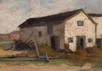 Farm Buildings by John William (J.W.) Beatty