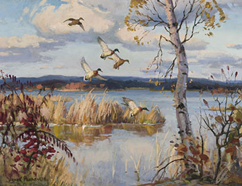 Lake Erie Marsh by Frank Shirley Panabaker
