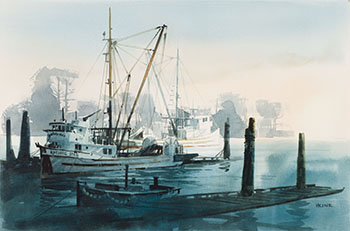 Evening at Steveston by Harry Heine