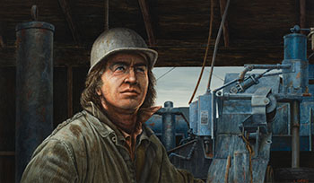 Driller by Leonard (Len) James Gibbs