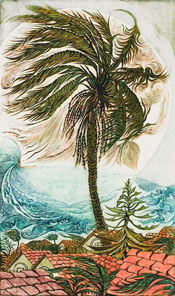 Bondi Palm by Richard Calver