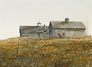 Sturgeon River Farm by Leonard (Len) James Gibbs