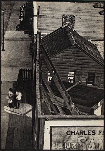From the Viaduct, N.Y., 1916 by Paul Strand