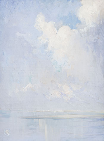 A Study of Sea and Sky by Ernest Percyval Tudor-Hart