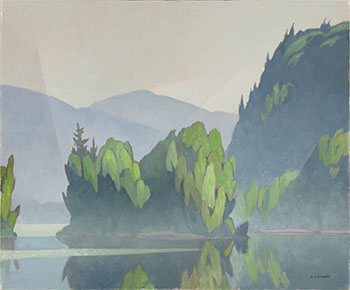 Early July Morning by Alfred Joseph (A.J.) Casson