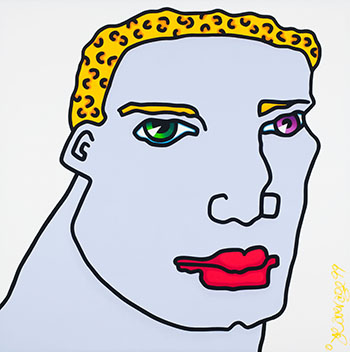 Untitled (blonde male) by Joe Average