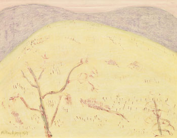 Autumn Meadow by Milton Avery