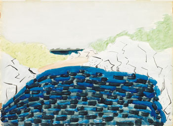 Dark Waters by Milton Avery