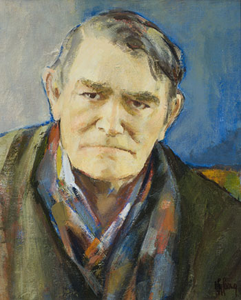 Portrait of Maxwell Bennett Bates by Myfanwy Spencer Pavelic