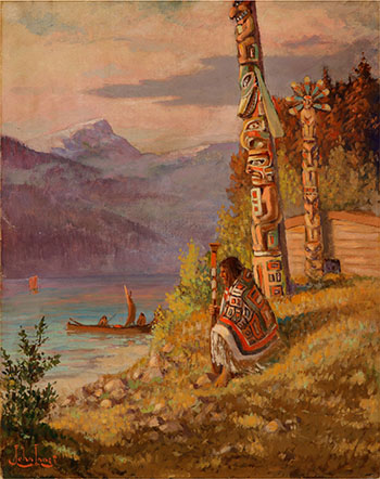 West Coast Totems by John I. Innes