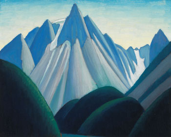 Cathedral Mountain from Yoho Valley, Mountain Sketch LXXXVI by Lawren Stewart Harris