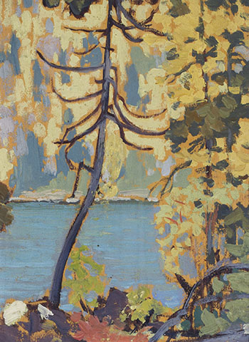 Autumn, Blue Lake, Algoma by Frank Hans (Franz) Johnston