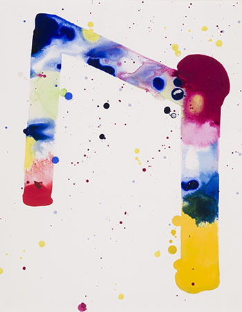 Tokyo (Drawing for Sculpture) by Sam Francis