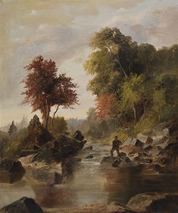 On Muskoka River par Thomas Mower Martin