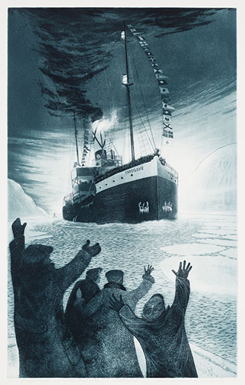 S.S. Imogene Home from the Icefields by David Lloyd Blackwood