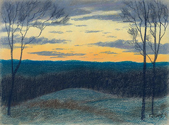 Sunset by John Eric Benson Riordon