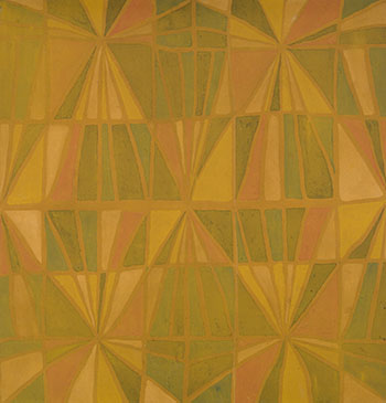 Orange and Green by Marian Mildred Dale Scott