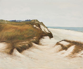 Beach Near Kliffende by Joseph Ferenc Acs