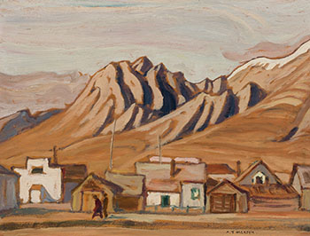 Canmore, Alberta / Landscape (verso) by Alexander Young (A.Y.) Jackson
