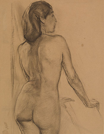 Nude by Frederick Horsman Varley
