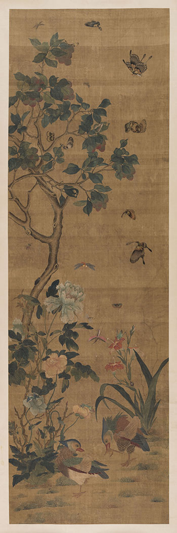 Auspicious Birds and Insects, Late 19th Century by  Chinese School