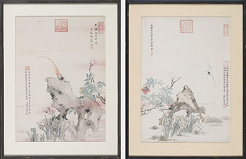 Two Works by Attributed to the Emperor Guangxu