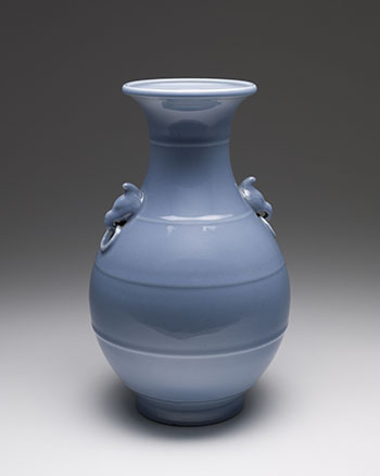A Chinese Sky Blue Glazed Hu Vase, Republican Period (1911 - 1949) by  Chinese Art