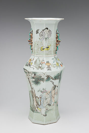 A Chinese Qianjiang 'Longevity' Vase, Republican Period, Early 20th Century by  Chinese Art