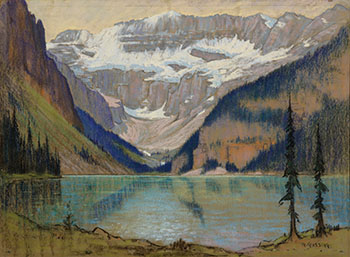 Lake Louise by Roland Gissing