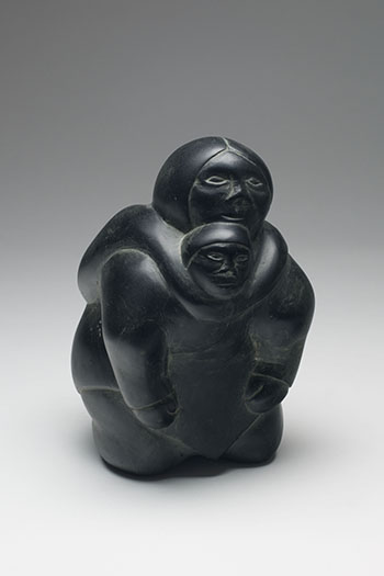 Mother & Child by Unidentified Inuit Artist