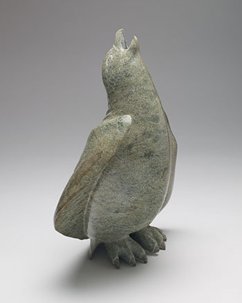 Bird Calling to the Sky by Unidentified Inuit Artist