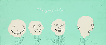 The Gang of Four by Marcel Dzama