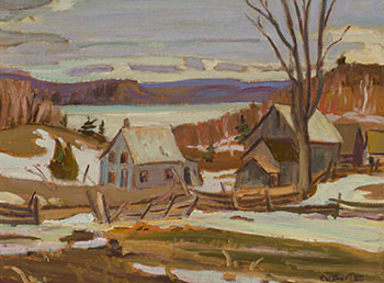 Lac Lemoine near Duhamel, Quebec by Ralph Wallace Burton