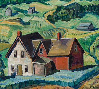 Summer Landscape, Eastern Townships by Ethel Seath