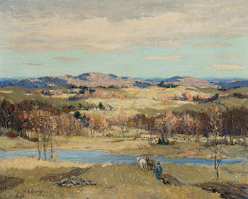 The Golden Valley, Upper Melbourne, Eastern Townships, Quebec by Frederick Simpson Coburn