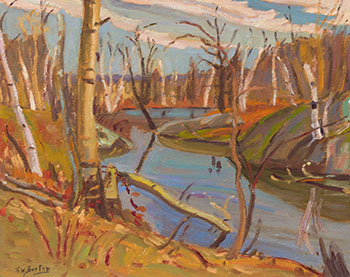 Late Autumn, Dunrobin, Ont. by Ralph Wallace Burton