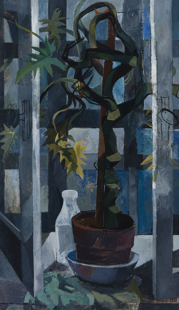 Still Life with Plant by Betty Roodish Goodwin