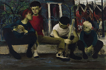 Kids on the Curb by William Arthur Winter