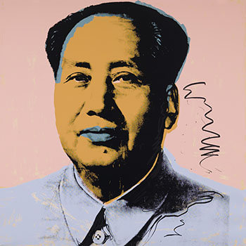 Mao (F. & S. II.92) by Andy Warhol