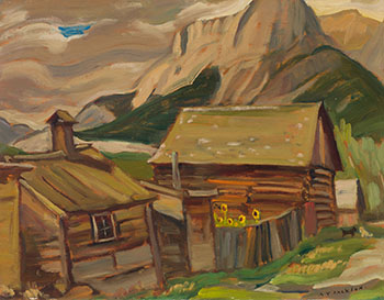 Canmore, Alta. by Alexander Young (A.Y.) Jackson