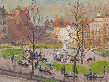 Leicester Square by Emile Claus