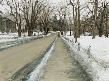 McGill, Sunday in Spring by John Geoffrey Caruthers Little