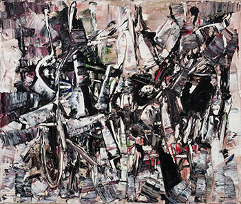 Descriptive by Jean Paul Riopelle