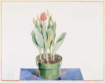 Bass Ale and Tulips by William Griffith Roberts