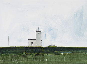 Small Nova Scotia Light by William Griffith Roberts