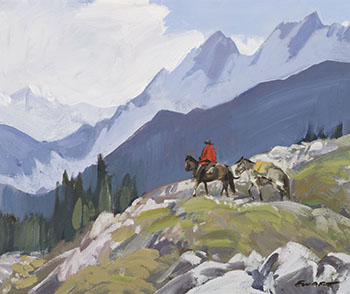 In the Selkirks par Peter Ewart